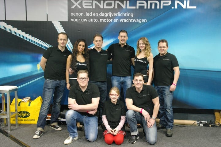 Team Xenonlamp in Leeuwarden