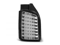 VW Transporter T5 03-15 LED achterlicht units Chrome-Zwart