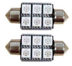 6-SMD-C5W-Blauw-24v-Canbus-LED