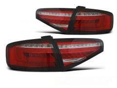 Audi A4 B8 Sedan LED achterlicht units, dynamisch knipperlicht Red White