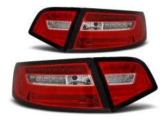 Audi A6 Sedan 08-11 Red White LED Bar LED achterlicht