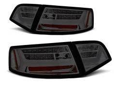 Audi A6 Sedan LED achterlicht units, dynamisch knipperlicht Smoke