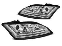 Audi TT 8J 06-10 Chrome Edition LED koplamp units
