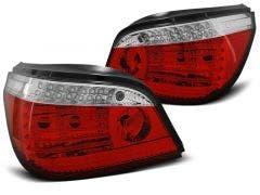 BMW E60 LED achterlicht units, dynamisch knipperlicht Red White 1