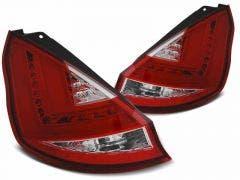 Ford-Fiesta-MK7-led-achterlicht-Red-White