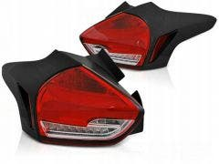 Ford Focus 3 LED achterlicht units, dynamisch knipperlicht Red White