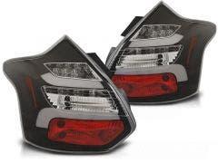 Ford Focus 3 LED achterlicht units, dynamisch knipperlicht Black 1