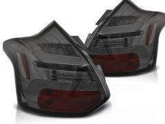 Ford Focus 3 LED achterlicht units, dynamisch knipperlicht Smoke