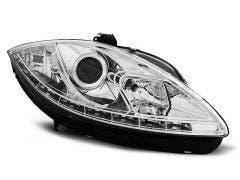 LED-koplamp-units-Seat-Leon-Altea-Chrome