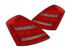 Mercedes W221 LED achterlicht units met dynamisch knipperlicht Red White