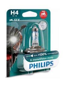 Philips X-tremeVision Moto H4 130% 12342XV+BW