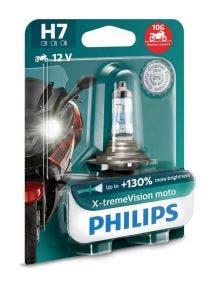 Philips X-tremeVision Moto H7 130% 12972XV+BW