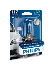 Philips WhiteVision 4300k blister 1 lamp - H7