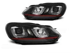 VW-Golf-6-U-Type-Black-RED-LED-Unit