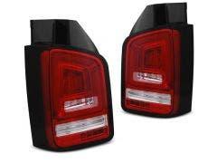 VW T5 LED achterlicht units met dynamisch knipperlicht White