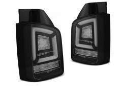 VW T5 LED achterlicht units met dynamisch knipperlicht Black