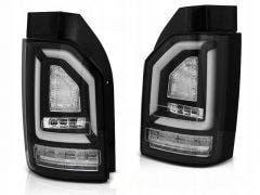 VW T6 LED achterlicht units met dynamisch knipperlicht Black