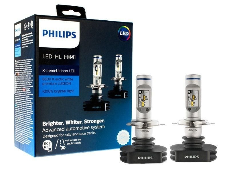 philips h4 canbus x treme ultinon led dimlicht. Black Bedroom Furniture Sets. Home Design Ideas