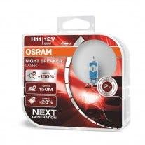 H11 Osram Night Breaker Laser 64211NL-HCB 2e Kans