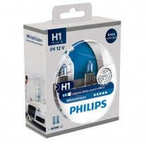 Philips WhiteVision Set H1 incl 2 W5W Tweede Kans