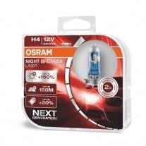 H4 Osram Night Breaker Laser 64193NL-HCB 2e Kans