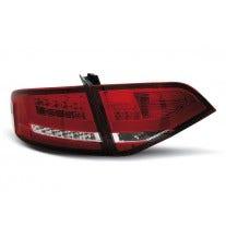 LED achterlicht units, geschikt voor Audi A4 B8 2008-2011 – Red