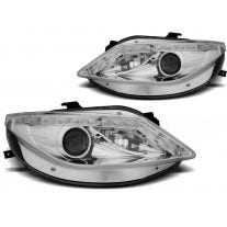 LED koplamp units, geschikt voor Seat Ibiza 6J - Chrome - LED knipperlicht