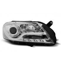 LED tube koplamp unit, geschikt voor VW Passat B7 okt 2010 tot okt 2014 - Chrome