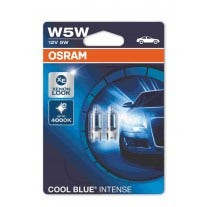 Osram Cool Blue Intense 12v W5W-T10 2825HCBI-02B 2e Kans