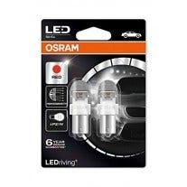OSRAM LEDRiving BA15S 12V Red 7556R-02B