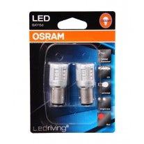 OSRAM LEDriving P21/5W BAY15d 12v 1457R rood