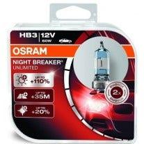 Osram Night Breaker Unlimited HB3 9005NBU 2e Kans