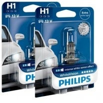 Philips WhiteVision set 3700k - H1 - (2 losse blisters)