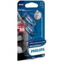 Philips WhiteVision W5W-T10 12961NBVB2 2e Kans