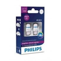 Philips X-TremeUltinon LED W5W-T10 8000k 127998000KX2 2e Kans