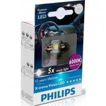 Philips X-treme Vision LED C5W 30mm 6000k 2e Kans