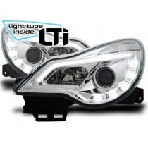 LED koplamp unit Opel Corsa D Chrome