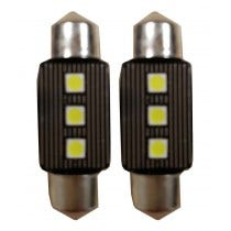 Canbus LED 3SMD C5W Binnenverlichting 6000k Wit