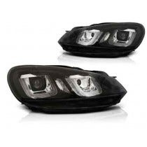 VW Golf 6 U Type Black LED Unit