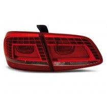 VW Passat B7 Red Clear Achterlicht LED Unit