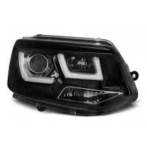 VW T5 U Type Black LED Unit