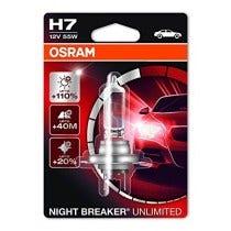 Osram Night Breaker Unlimited H7 Blister 1 Lamp
