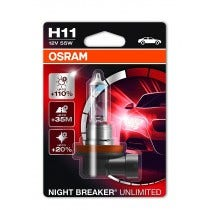 Osram Night Breaker Unlimited H11 Blister 1 Lamp