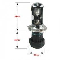 Xenonlamp.nl Private Label Xenon vervangingslamp - H4 Bi-Xenon - 6.000k - R-lamp