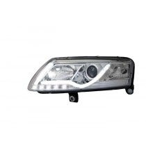 LED-koplamp-unit-Audi-A6-Chrome