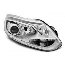 LED tube koplamp unit, geschikt voor Ford Focus MK3 2011 tot 10-14 – Chrome
