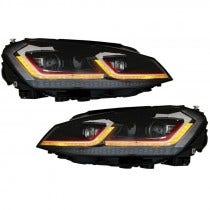 LED-koplamp-units-Golf-7-Facelift-GTI-Look-dynamisch-knipperlicht
