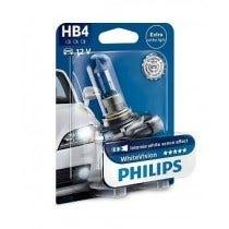 Philips WhiteVision 3800k blister 1 lamp - HB4 2e Kans