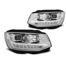 VW-T6-Chrome-edition-LED-Tube-DRL-koplamp-unit