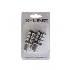 CANBUS SMD 27 LED knipperlicht-Oranje-BA15S